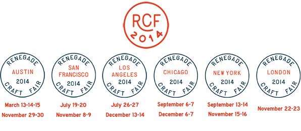 RCF 2014 schedule